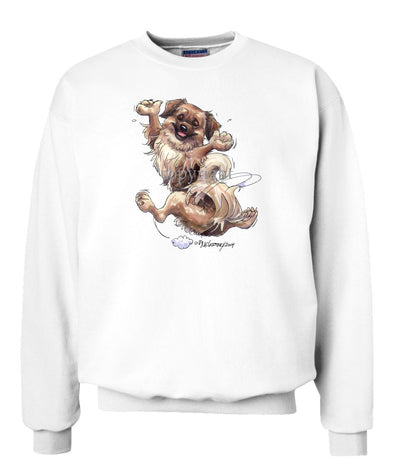 Tibetan Spaniel - Happy Dog - Sweatshirt