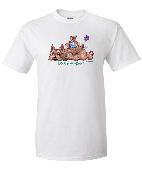 Norwich Terrier - Life Is Pretty Good - T-Shirt