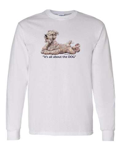 Soft Coated Wheaten - All About The Dog - Long Sleeve T-Shirt