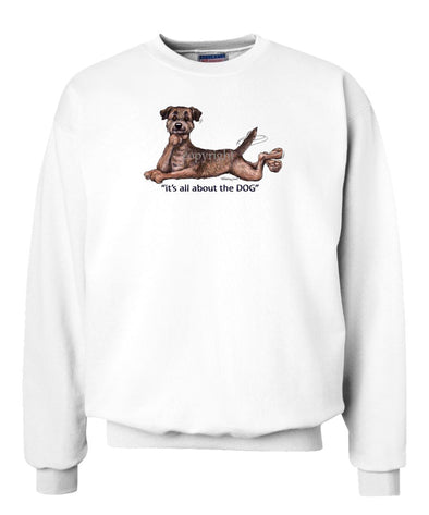 Border Terrier - All About The Dog - Sweatshirt