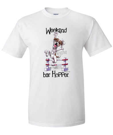 Jack Russell Terrier - Weekend Barhopper - T-Shirt