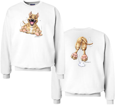 American Staffordshire Terrier - Coming and Going - Sweatshirt (Double Sided)