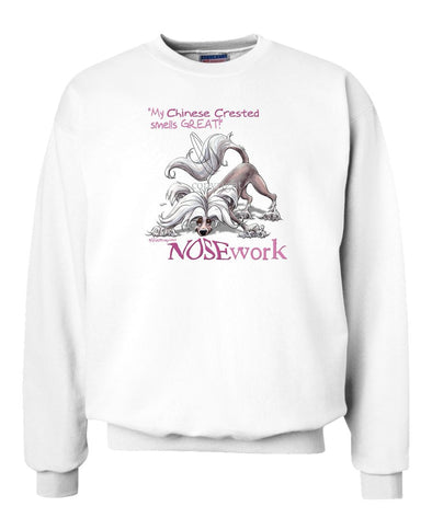 Chinese Crested - Nosework - Sweatshirt