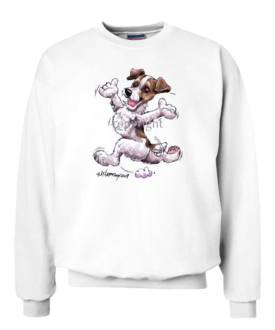 Jack Russell Terrier - Happy Dog - Sweatshirt