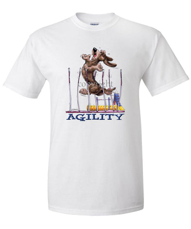 Dachshund  Wirehaired - Agility Weave II - T-Shirt