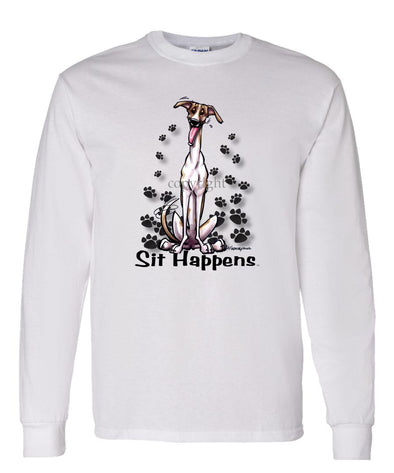 Greyhound - Sit Happens - Long Sleeve T-Shirt