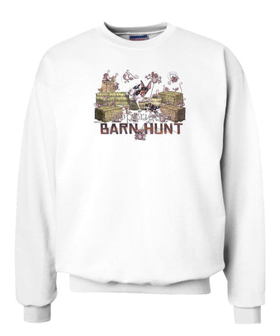 Rat Terrier - 2 - Barnhunt - Sweatshirt