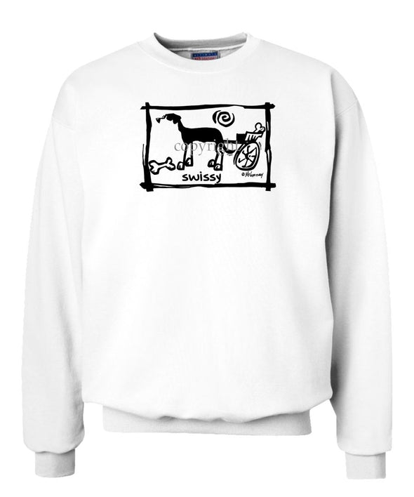Greater Swiss Mountain Dog - Cavern Canine - Sweatshirt
