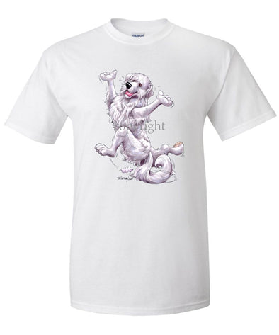 Great Pyrenees - Happy Dog - T-Shirt