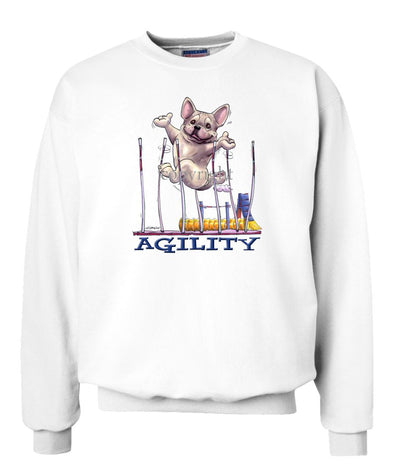 French Bulldog - Agility Weave II - Sweatshirt
