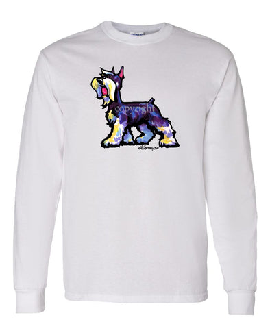 Schnauzer - Cool Dog - Long Sleeve T-Shirt