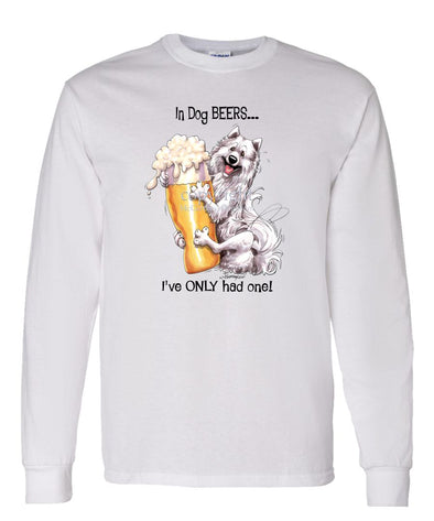 Samoyed - Dog Beers - Long Sleeve T-Shirt