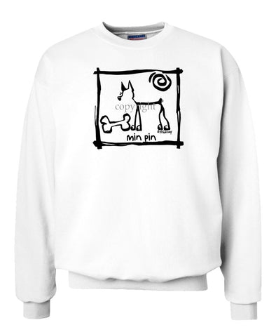 Miniature Pinscher - Cavern Canine - Sweatshirt