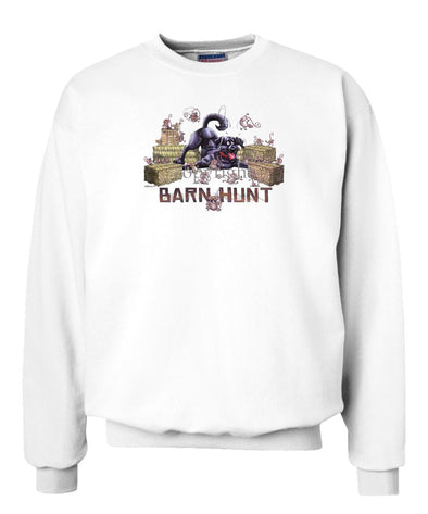 Labrador Retriever  Black - Barnhunt - Sweatshirt