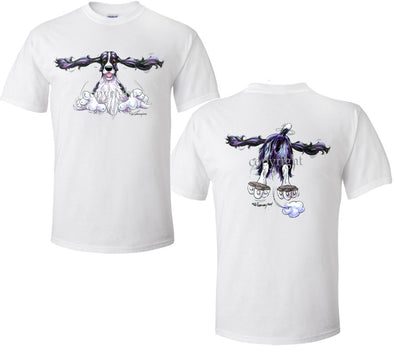 English Springer Spaniel - Coming and Going - T-Shirt (Double Sided)