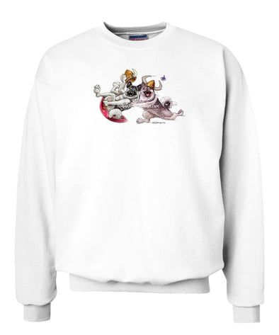Norwegian Elkhound - Snow Disc - Mike's Faves - Sweatshirt
