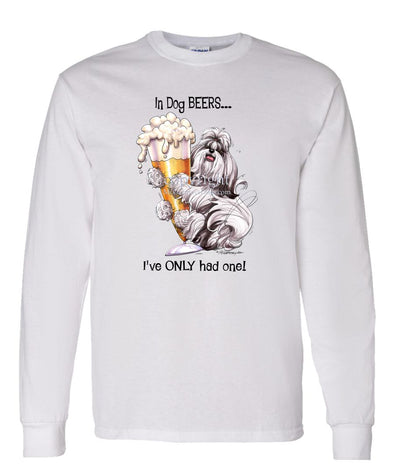Shih Tzu - Dog Beers - Long Sleeve T-Shirt