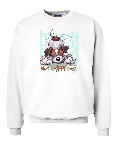 Parson Russell Terrier - Who's A Happy Dog - Sweatshirt