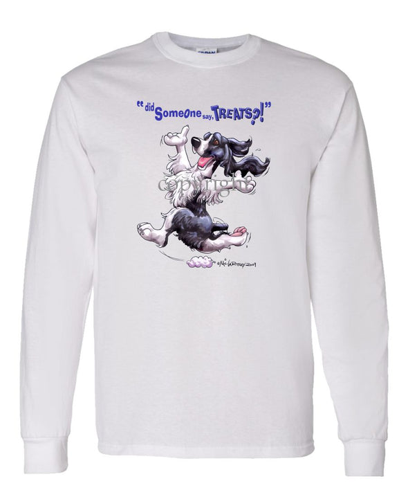 English Springer Spaniel - Treats - Long Sleeve T-Shirt