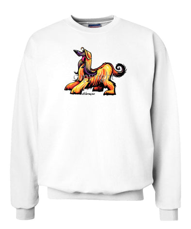 Afghan Hound - Cool Dog - Sweatshirt