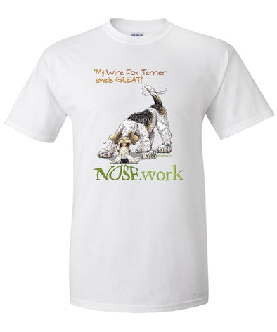 Wire Fox Terrier - Nosework - T-Shirt