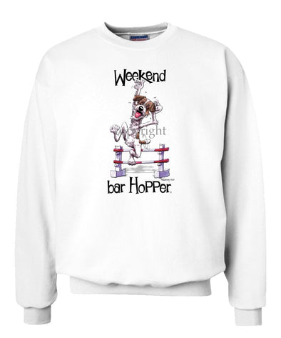 Jack Russell Terrier - Weekend Barhopper - Sweatshirt