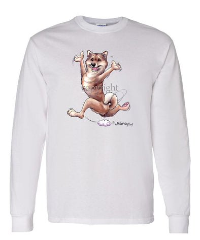 Shiba Inu - Happy Dog - Long Sleeve T-Shirt