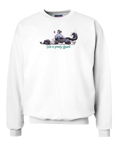 Border Collie - Life Is Pretty Good - Sweatshirt