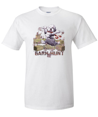 Old English Sheepdog - Barnhunt - T-Shirt