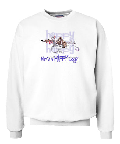 Whippet - Who's A Happy Dog - Sweatshirt