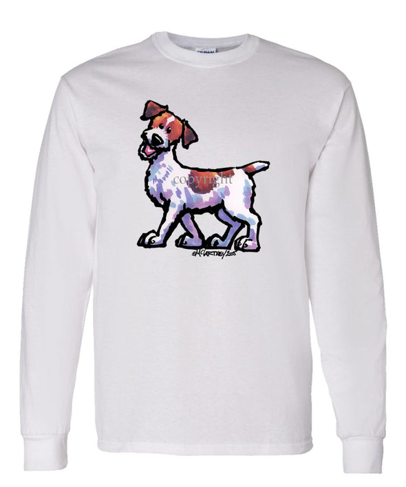 Parson Russell Terrier - Cool Dog - Long Sleeve T-Shirt