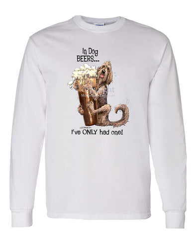 Otterhound - Dog Beers - Long Sleeve T-Shirt