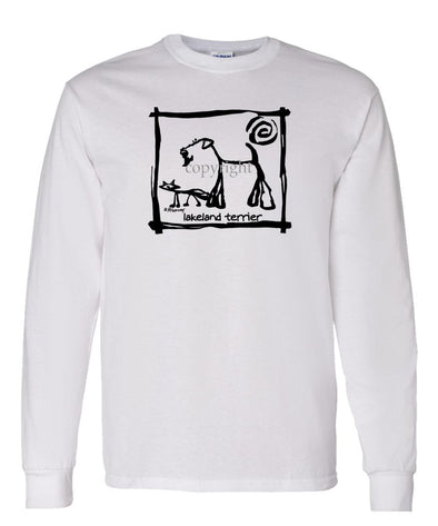 Lakeland Terrier - Cavern Canine - Long Sleeve T-Shirt