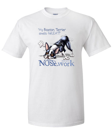 Boston Terrier - Nosework - T-Shirt