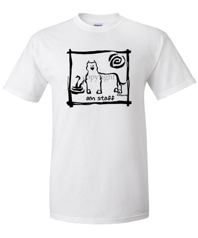 American Staffordshire Terrier - Cavern Canine - T-Shirt