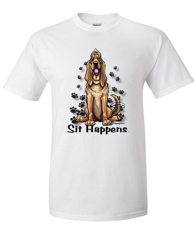 Bloodhound - Sit Happens - T-Shirt