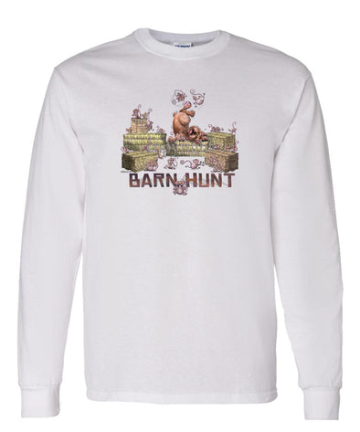 Norwich Terrier - Barnhunt - Long Sleeve T-Shirt