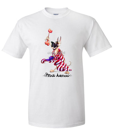 Great Dane - Proud American - T-Shirt