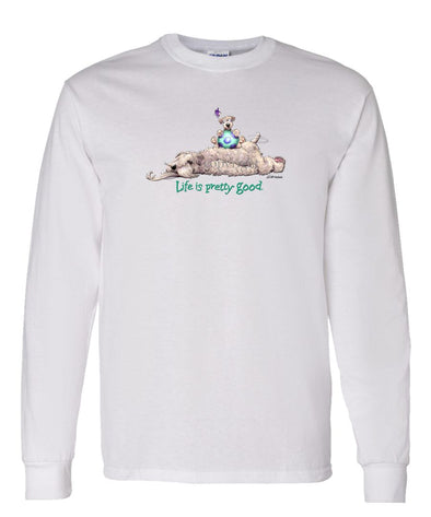 Soft Coated Wheaten - Life Is Pretty Good - Long Sleeve T-Shirt