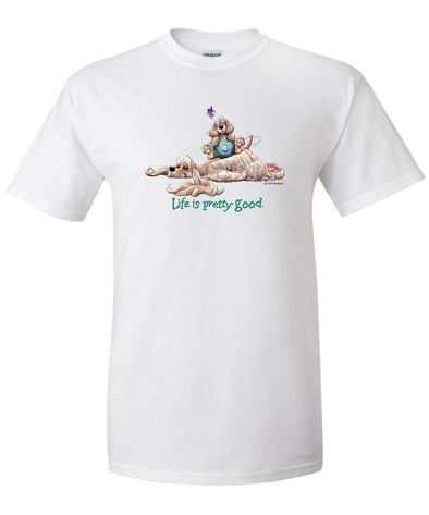 Cocker Spaniel - Life Is Pretty Good - T-Shirt