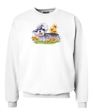 Dandy Dinmont - With Sunglasses - Caricature - Sweatshirt