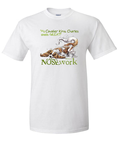 Cavalier King Charles - Nosework - T-Shirt