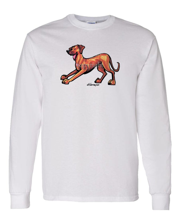 Rhodesian Ridgeback - Cool Dog - Long Sleeve T-Shirt