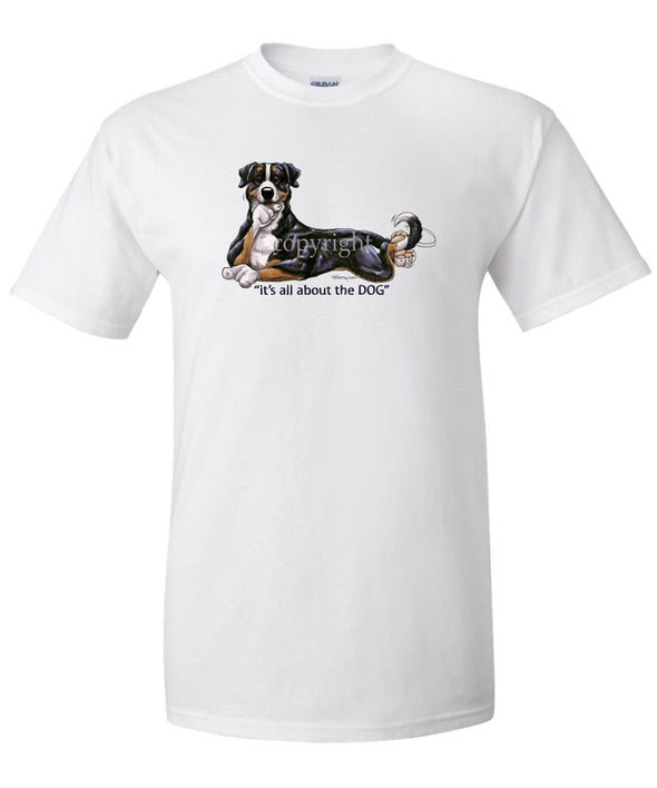 Greater Swiss Mountain Dog - All About The Dog - T-Shirt