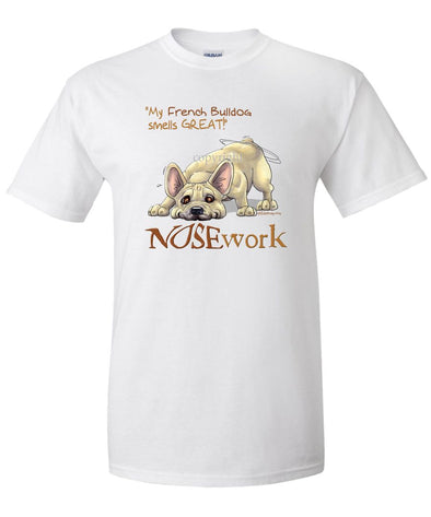 French Bulldog - Nosework - T-Shirt