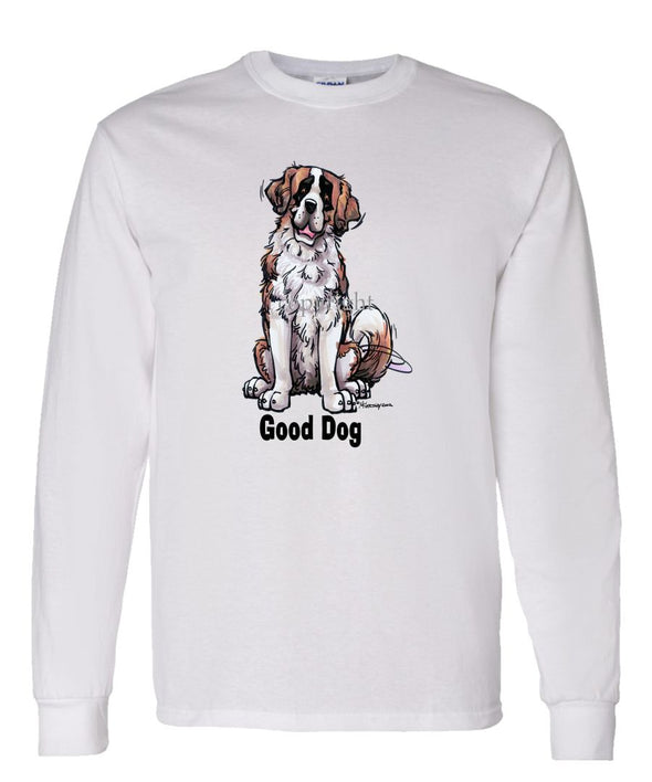 Saint Bernard - Good Dog - Long Sleeve T-Shirt