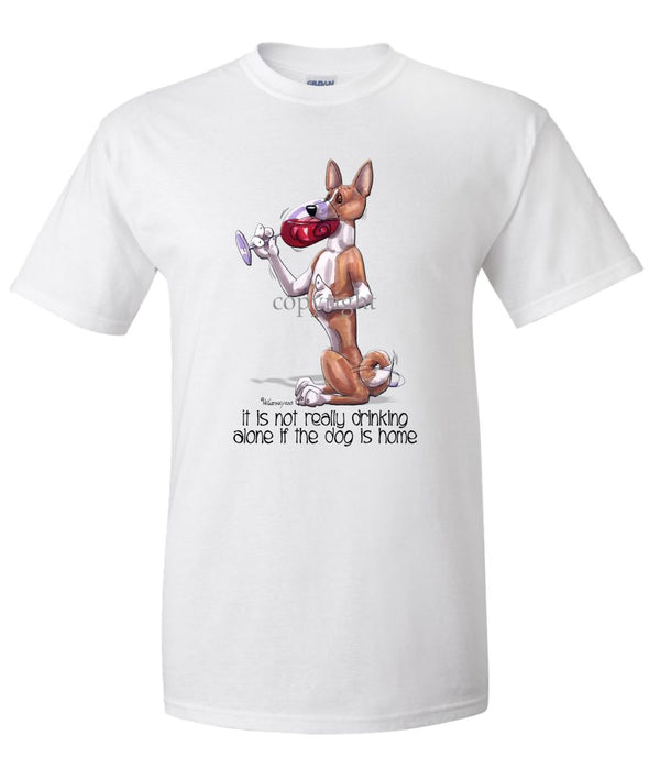 Basenji - It's Not Drinking Alone - T-Shirt