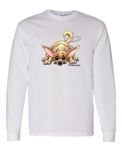 Chihuahua  Smooth - Rug Dog - Long Sleeve T-Shirt
