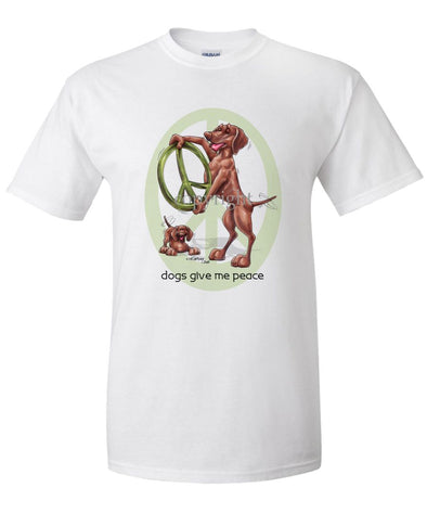 Vizsla - Peace Dogs - T-Shirt