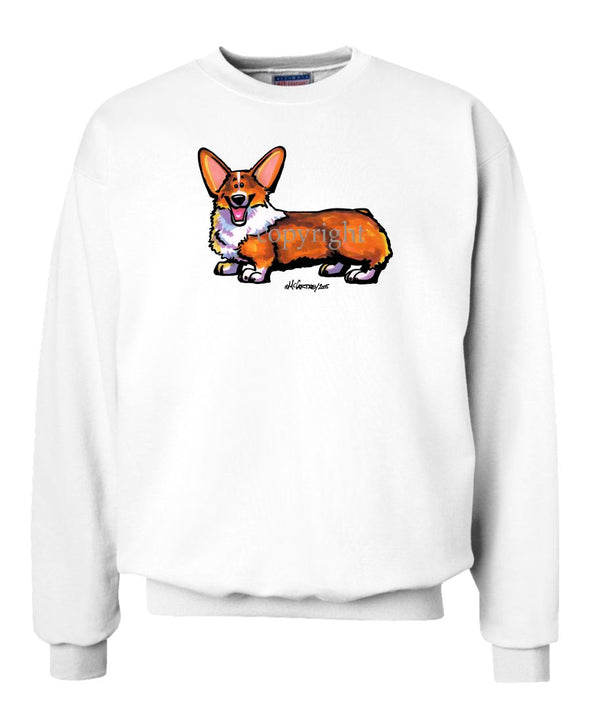 Welsh Corgi Pembroke - Cool Dog - Sweatshirt